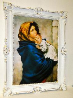 Bild mit Rahmen xxl Gemälde heilige Maria mutter Gottesgemälde Religiöse Bild