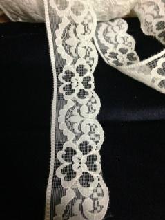 10 Meter Spitzenborte tüllspitze Weiß 4cm Tüllband Spitze Hochzeitsdeko Angebot - Vorschau 4