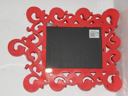 Spiegel Wandspiegel 64 X 54 BAROCK ROT Venezia 09 1 - Vorschau 5