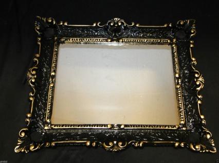 Bilderrahmen WEIß Barock Fotorahmen Antik Hochzeitsrahmen 56x46 Gemälderahmen - Vorschau 4