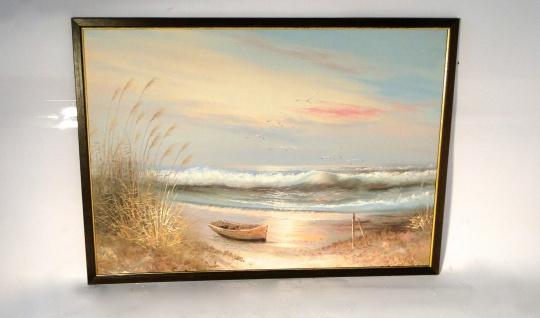Bilderrahmen Gemälde 50X70 Antik Rechteckig Bild LEINWAND