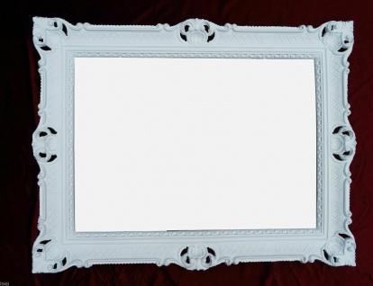 Bilderrahmen Weiß Antik 70x90 Bilderrahmen jugendstill Rechteckig gross Shabby