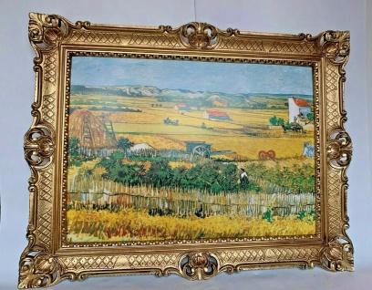 Gemälde Van Gogh Kunstdruck Die Ernte Dorfbild 50x70 Wandbild 90x70 Erntenfeld