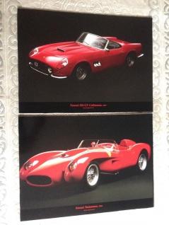 Ferrari Bilder Bild auf Mdf Platten 50x70cm Ihnen Rahmen Autobild Testorassa GT