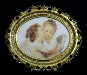 Engelsbild Engels-Kuss Bild mit Engel Schutzengel bild58x68 Engelbild Heilige