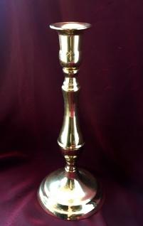 Kerzenleuchter Messing Kerzenständer gold Kerzenhalter 19 cm REG 80335