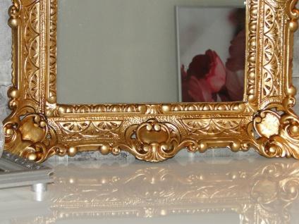 Bilderrahmen Jugendstil Gold Antik Rechteckig 56x46 BAROCK 30x40 mit Rückwand