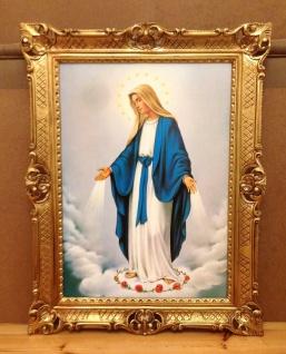 Madonna Heilige Mutter Maria Gemälde 90x70 Bild Wandbild Maria Mutter Gottes - Vorschau 4