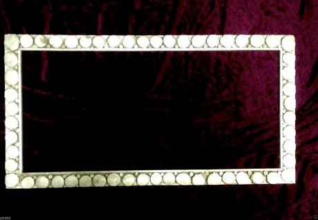 Bilderrahmen Holz Antik Gold 85x45 Fotorahmen Spiegelrahmen Lackiert Shabby - Vorschau 2
