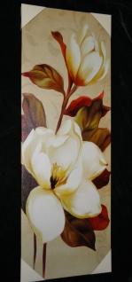 XXLBilder Leinwand Keilrahmen Bild groß Canvas Bilder BLUMEN 40x120 FLOWER - Vorschau 3