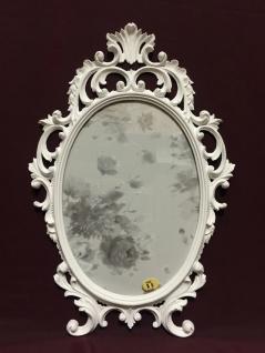 Bilderrahmen Barock Weiß Oval 43x27 Bilderrahmen Antik Fotorahmen C531 Photo - Vorschau 5