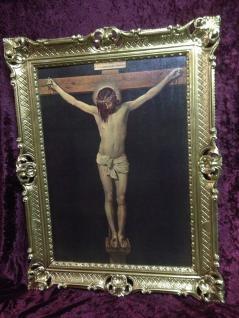 Jesus Christus Wandbild Christliche Heilige Jesus in Kreuz Bild Bilderrahmen