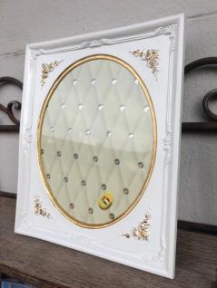 Bilderrahmen Weiß Gold Barock 25x22 Fotorahmen Antik Rahmen Jugendstil Deko - Vorschau 5