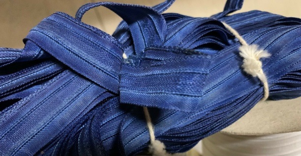 20 Meter Blau Kräuselband Gardinenband Gardinenzubehör 20mm Faltenband