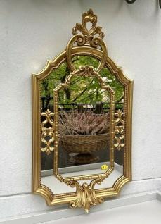 Barock Wandspiegel Gold Prunk Spiegel Antik Rokoko Badspiegel Shabby 59x32cm NEU - Vorschau 2