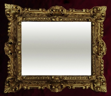 Bilderrahmen Antik Gold vintage, Shabby Barock, FOTORAHMEN Jugendstil 45x38