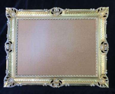 xxl Bilderrahmen Gold-Weiß Barock Antik 90x70 Hochzeitsrahmen Groß Fotorahmen