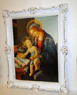 Heilige Bild Mutter Maria mit Kind Jesus Christus 90x70 Ikonen Botticelli Sandro
