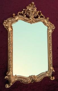 Wandspiegel Gold Antik Badspiegel 54X37 Shabby Flurspiegel Barock Spiegel c499 - Vorschau 5