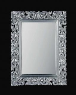 Wandspiegel Antik Silber 120 x 90 CM Barock Friseurspiegel Spiegel Ornamente - Vorschau 3