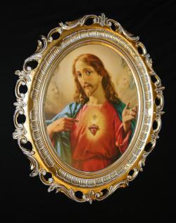 Heiligenbild Jesus Bild Gemälde christliche Bilder Jesus Christus gemälde 68cm
