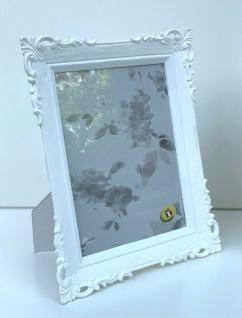 Bilderrahmen Weiß Antik Barockrahmen 13x18cm Fotorahmen Shabby 20x25 Deko