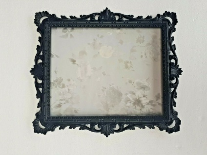 Jugendstil Bilderrahmen Antik Fotorahmen Rechteckig Rahmen Farbe Silber Ranken