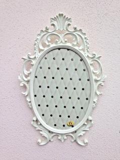 Bilderrahmen Barock Antik Weiß Oval 43x27 Bilderrahmen Shabby Fotorahmen C531