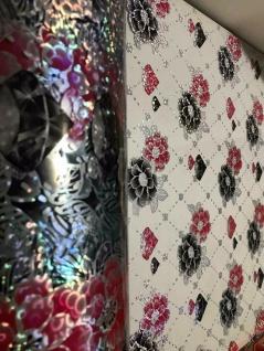 Tischschutz Folie 2 mm PVC Schutzfolie Tischdecke Meterware Breite 100cm Blumen - Vorschau 2