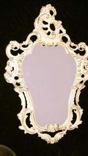 Repro Spiegel Wandspiegel WEIß-Gold 50X76 ANTIK BAROCK Badspiegel 118 Neu 4