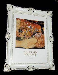 Bild mit Rahmen Gemälde ACQUA MOSSA 90x70 Gerahmte Gemälde Gustav Klimt