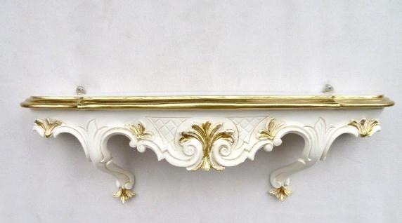 Wandkonsole Antik barock Konsole 49x21 Spiegelkonsole Hängekonsole Telefontisch