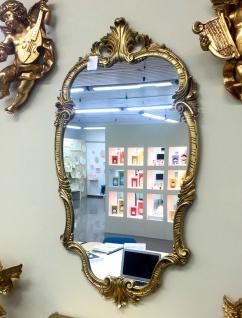 WANDSPIEGEL Spiegel Barock Gold Oval 98x55 Antik Flurspiegel Friseurspiegel C410