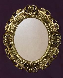 Bilderrahmen Gold Barock Fotorahmen mit Glas Rokoko 45X37 Spiegelrahmen Antik