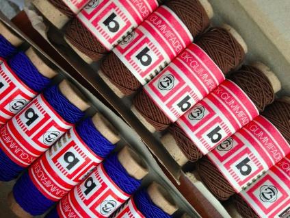 10 x Gummifaden Gummilitze Smok Gummifaden Mundbedeckungs Bedarf Nähgarn gummi - Vorschau 3