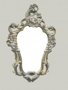 Wandspiegel Gold silber Spiegel 50X76 ANTIK BAROCK Wanddeko Rokoko Repro NEU