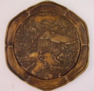 Wanddeko zum Aufhängen 15 cm rund