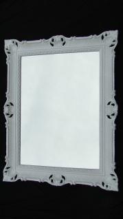 Bilderrahmen Groß 90x70 Foto-Hochzeitsrahmen Weiß Barock Rechteckig mit Glas