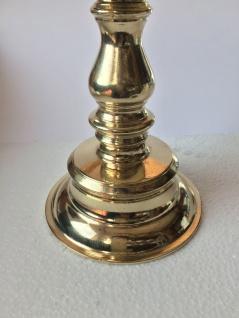 Kerzenhalter Messing Poliert Kerzenleuchter Gold 17cm Massiv Kandelaber 82279 - Vorschau 3
