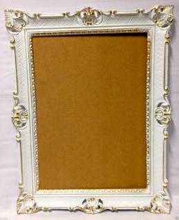 Bilderrahmen Weiß Gold Barock Hochzeitsrahmen Antik 90x70 Bilderrahmen groß