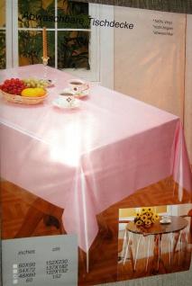Transparent Tischdecke Durchsichtig abwaschbar 122x152 Schutzdecke Schutzfolie