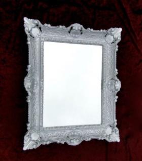 Bilderrahmen barock Silber 57x47 Fotorahmen Antik Jugendstil 30x40 Rechteckig