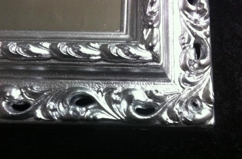 Wandspiegel 43x36 Spiegel BAROCK Rechteckig Antik 3059 SILBER Arabesco 1 - Vorschau 3