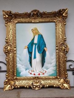 Muttergottes Madonna Heilige Maria 56x46 Kunstdruck Bild Wandbild