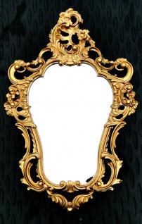 Ovaler Wandspiegel Gold Spiegel 50X76 ANTIK BAROCK Badspiegel Flurspiegel