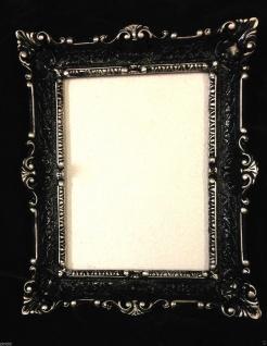Bilderrahmen WEIß Barock Fotorahmen Antik Hochzeitsrahmen 56x46 Gemälderahmen - Vorschau 3