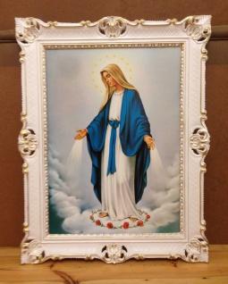 Madonna Heilige Mutter Maria Gemälde 90x70 Bild Wandbild Maria Mutter Gottes