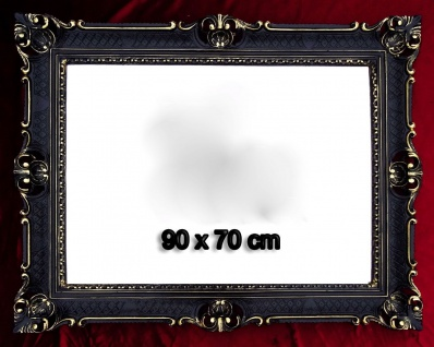 Bilderrahmen Antik Schwarz Gold Hochzeitsrahmen 90x70 Großer Bilderrahmen 50x70