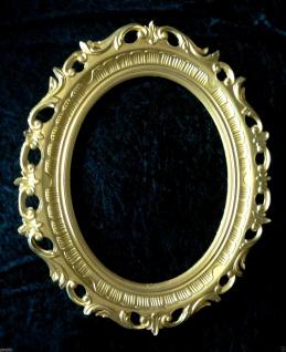 Bilderrahmen Oval GOLD Spiegelrahmen 58x68 Gemälderahmen BAROCK Antik Neu 41R