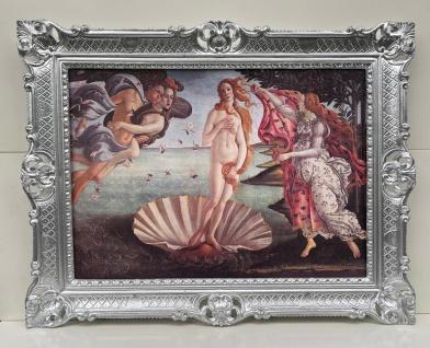 Bild mit Rahmen Die Geburt der Venus Botticelli 90x70 Venus am Strand Clarius